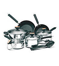 Paula Deen® Signature Stainless Steel 12-pc. Cookware Set