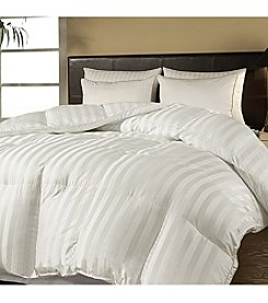 Blue Ridge Home Fashions Damask Stripe Down-Alternative Comforter
