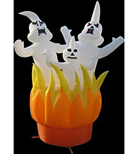 10' Inflatable Ghosts On Fire