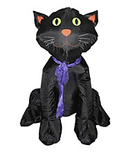 4' Inflatable Halloween Classic Black Cat