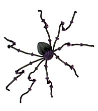 8 ft Black and Purple Tarantula