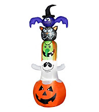 8' Airblown All Halloween Characters Stack