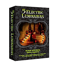 Set of 5 Haunted House Electric Luminaria Kit