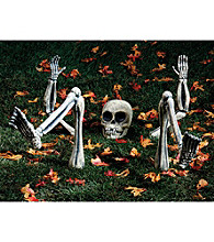 Lighted Groundbreaker Skeleton Body Parts