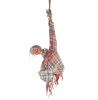 Hanging Ghoul Torso Animated Prop