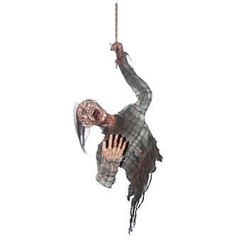 Hanging Bloody Zombie Torso