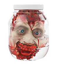 Head in Laboratory Jar