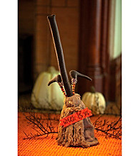 Dancing Halloween Broom Animated Prop