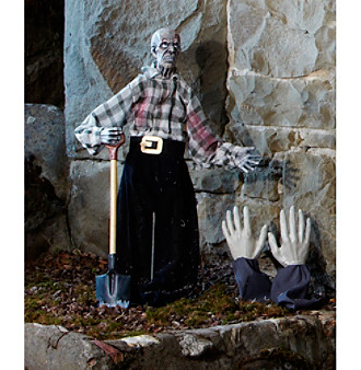 Standing Zombie Grave Digger