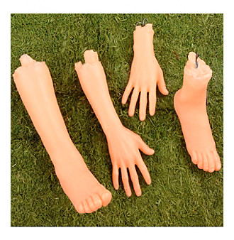 4 Count Light Up Body Parts