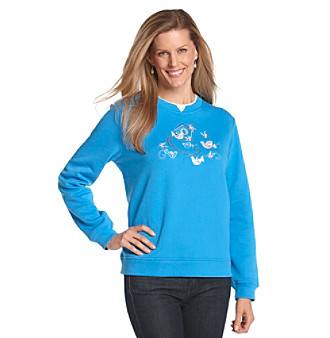 Breckenridge® Early Thaw Crewneck Fleece Pullover