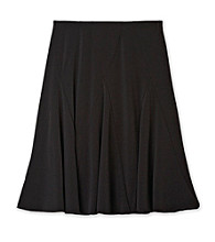 Amy Byer Girls' 7-16 Plus Size Black Skirt