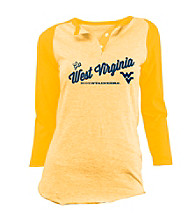 Soffe® Juniors' West Virginia Gold Baseball Tee