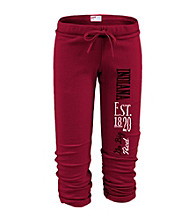 Soffe® Juniors' Indiana Football Capri Sweatpants