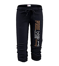 Soffe® Juniors' Purdue Football Capri Sweatpants