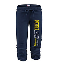 Soffe® Juniors' Michigan Football Capri Sweatpants