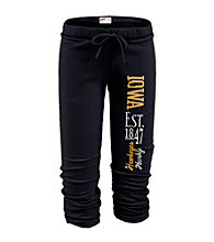 Soffe® Juniors' Iowa Football Capri Sweatpants