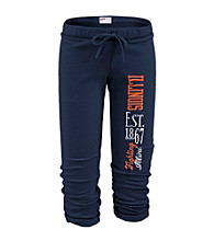Soffe® Juniors' Illinois Football Capri Sweatpants