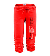Soffe® Juniors' Nebraska Football Capri Sweatpants
