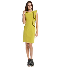 Calvin Klein Portrait Collar Sheath