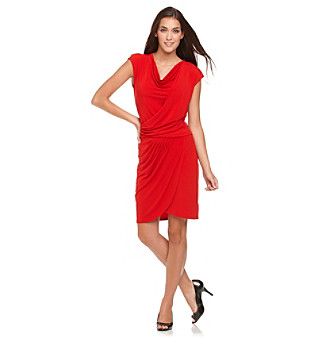 MICHAEL Michael Kors Drapefront Dress