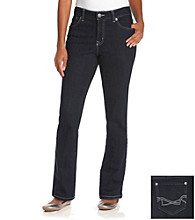 Nine West Vintage American Collection® Petites' Dark Water Boho Straight Leg Jeans