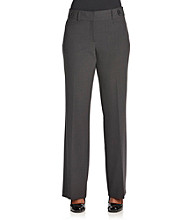 Briggs New York® Petites' Slimming Solutions Pants with Side Tabs