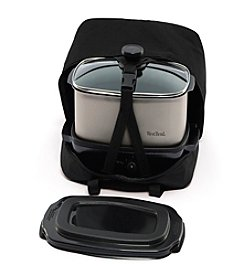 West Bend® 5-qt. Versatility Slow Cooker with Tote