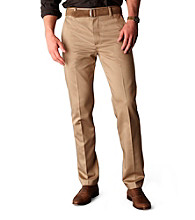 Dockers® Men's Slim Fit Flat Front Never Iron Khaki