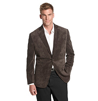 Kenneth Roberts Platinum® Men's Brown Herringbone Soft Coat