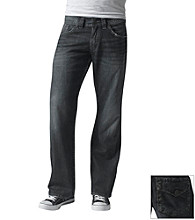 Silver Jeans Co. Men's Dark Zac Relax Straight-Fit Jeans