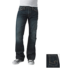 Silver Jeans Co. Men's Dark Nash Slim Straight Jeans