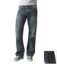 Silver Jeans Co. Men's Vintage Wash Zac Relaxed Straight-Fit Jeans