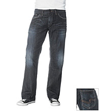 Silver Jeans Co. Men's Dark Zac Relaxed Straight-Fit Jeans