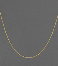 14K Yellow Gold Perfectina Chain Necklace