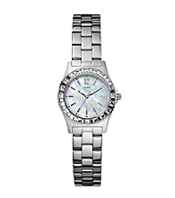 Guess Silver Petite Sport & Sparkle Watch