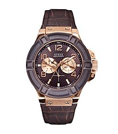GUESS Rosegold Rugged Sport Watch