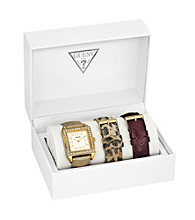 Guess Gold Classic Glamour Watch - Interchangeable Set