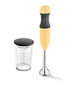 KitchenAid® Yellow Immersion 2-Speed Hand Blender