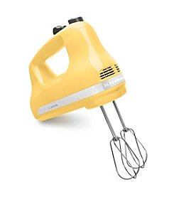 KitchenAid® Yellow 5-Speed Ultra Power Hand Mixer