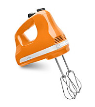 KitchenAid® Tangerine 5-Speed Ultra Power Hand Mixer
