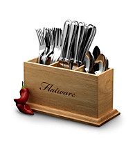 Mikasa® Hayden 36-pc. Flatware Set with Caddy