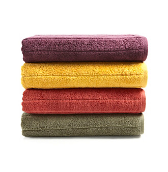 LivingQuarters Loft EcoLite Bath Towel Collection
