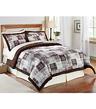 Portsmouth Cold-Weather Plush-Reverse Comforter Set by Ruff Hewn