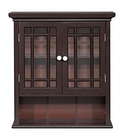 Elegant Home Fashions® Neal 2-Door, 1-Shelf Wall Cabinet