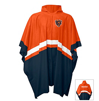 G-III Men's Navy Bears Hurricane Rain Poncho