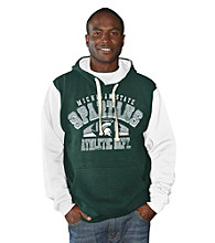 G-III Men's Green Michigan State Safety Fleece Pullover Hoodie