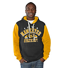 G-III Men's Black Iowa Safety Fleece Pullover Hoodie