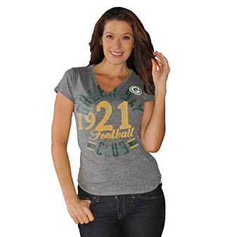 G-III Women's Green Bay Packers Quarter Coverage Top