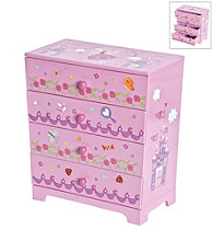 Mele & Co. Annette Girls Fairy Princess Jewelry Box